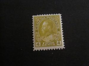 Canada #110 Mint Never Hinged (XR) - I Combine Shipping!