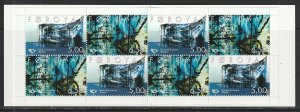 2002 Faroe Islands - Sc 417a - MNH VF - Complete Booklet - Art by Patursson