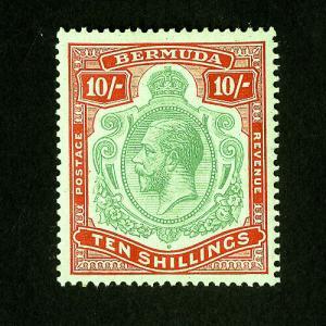 Bermuda Stamps # 96 VF OG NH Catalog Value $320.00