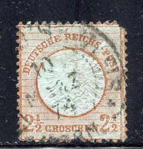 GR Lot 10556 German Reichs 1872 21 1 1-2 Groschen as shown