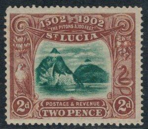 St. Lucia #49* NH CV $15.00
