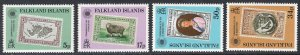 FALKLAND ISLANDS SCOTT 371-374