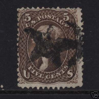 USA #76 Used With Star Cancel