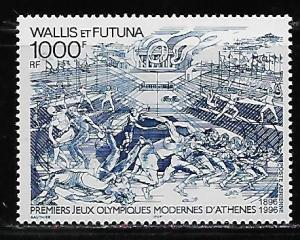 Wallis and Futuna Islands C191 100th Olympics single MNH