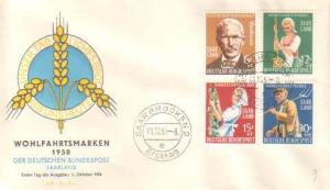 Saar, First Day Cover