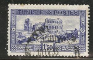 Tunis Tunisia Scott 137 used 1931 stamp CV$0.75
