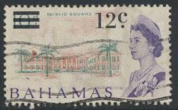 Bahamas  SG 281 SC# 238 Used  OPT Decimal Currency 1966