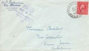 United States U.S. R.P.O.'s San Fran. S.J. & Los Ang. 1929 980-Q-3  Blue Corn...