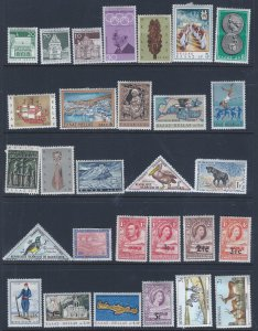 WW 29 MH STAMPS SCV $ ?? STARTS AT A LOW PRICE!!!