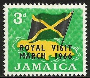 Jamaica 1966 Scott# 248 MH