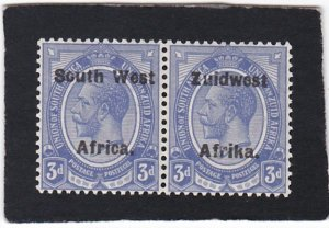 South West Africa,  #  32    unused  pair