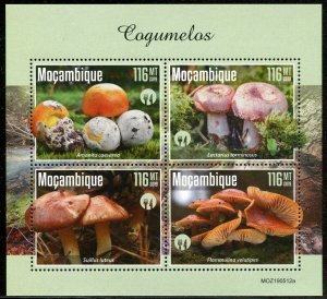 MOZAMBIQUE 2019 MUSHROOMS SHEET MINT NEVER HINGED