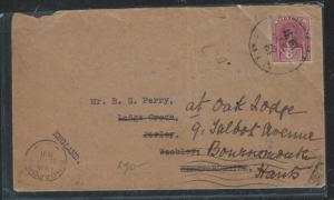 SARAWAK (P0701B) 1931 BROOKE 6C COVER TO ENGLAND
