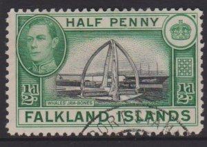 Falkland Islands Sc#84 Used