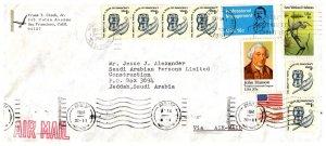 United States, California, Foreign Destinations, Saudi Arabia