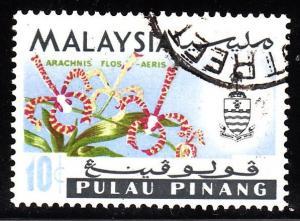 Malaya - Penang 71 - used