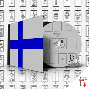 FINLAND STAMP ALBUM PAGES 1856-2011 (220 PDF digital pages)
