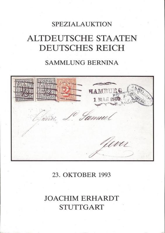 Erhardt: Sale # 31  -  Spezialauktion Altdeutsche Staaten...