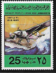 Libya - SC# 770 - MNH - SCV$0.45 - Aviation