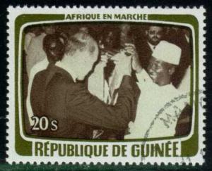 Guinea #768 Drinking a Toast, CTO (1.10)