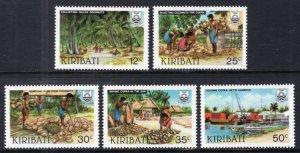 Kiribati 426-430 MNH VF