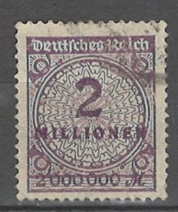 COLLECTION LOT # 4304 GERMANY #282 1923 CV+$20