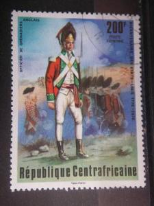 CENTRAL AFRICAN, 1976, used 200f