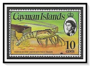 Cayman Islands #338 Spiny Lobster & Gold Coins MNH