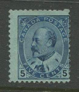 Canada - Scott 91 - KEVII Definitive Issue - 1903 - MNG - Single 5c Stamp