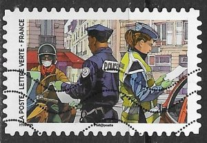 France ~ Scott # 5906 ~ Used ~ Police Officers