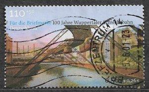 Germany 2002 used semi-Postal
