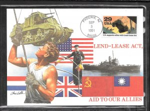 Just Fun Cover #2559C Fleetwood Unicover Maximum Card FDC Cachet (my3265)