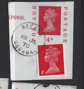 SARAWAK   (P2507B)   GB QEII USED IN FROM   BELAGA