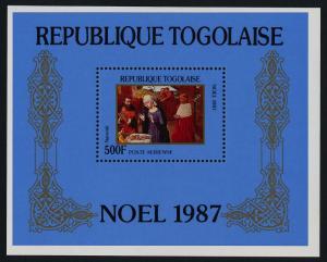 Togo 1452 MNH Christmas, Art