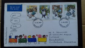 Great Britain 1979 International Year of the Child FDC