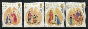 PITCAIRN ISLANDS SG405/8 1991 CHRISTMAS MNH
