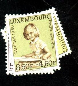 LUXEMBOURG #b216-221 MINT FVF OG NH Cat $ 12