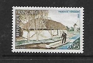 FRANCE, 1129, MINT HINGED, VENDEE RIVER