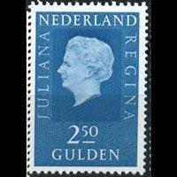 NETHERLANDS 1969 - Scott# 472 Queen 2.5g NH