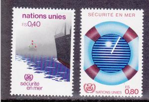 United Nations - Geneva # 114-115, Mint Never Hinged Set