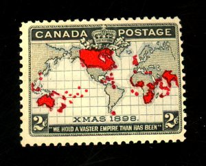 Canada #85 MINT F-VF OG VLH Cat $45