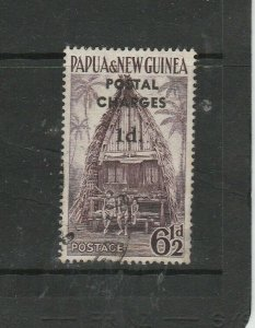 Papua & New Guinea Postage Due, 1d on 6 1/2d, Used SG D2