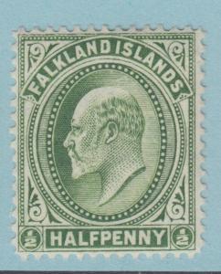 FALKLAND ISLANDS 22 MINT NEVER HINGED OG **  NO FAULTS EXTRA FINE !