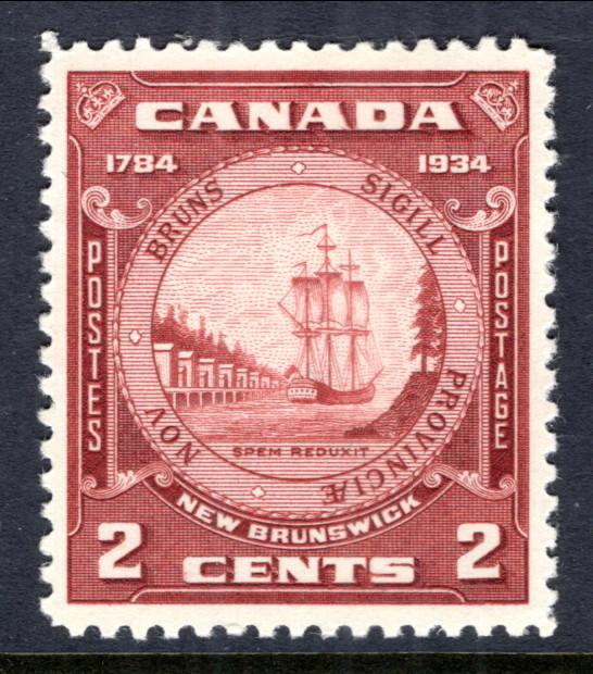 Canada 210 Sailing Ship MNH VF