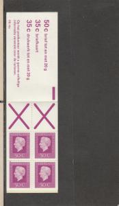 NETHERLANDS 464a MNH COMPLETE BOOKLET 2014 SCOTT CATALOGUE VALUE $3.00