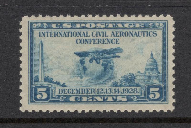 US#650 Blue - Unused - O.G. - N.H.