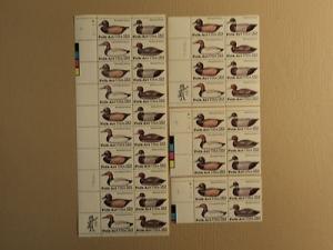 USPS Scott 2138-41 22c 1984 Folk Art Lot Of 4 Plate Block...