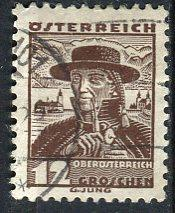 Austria; 1934: Sc. # 360: O/Used Single Stamp