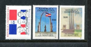 Dominican Republic 1041-1043 MNH Trinitarians 150th Ann. 1988 Francisco .x27774