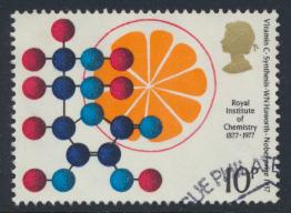 Great Britain  SG 1030 SC# 807 Used / FU with First Day Cancel - Chemistry